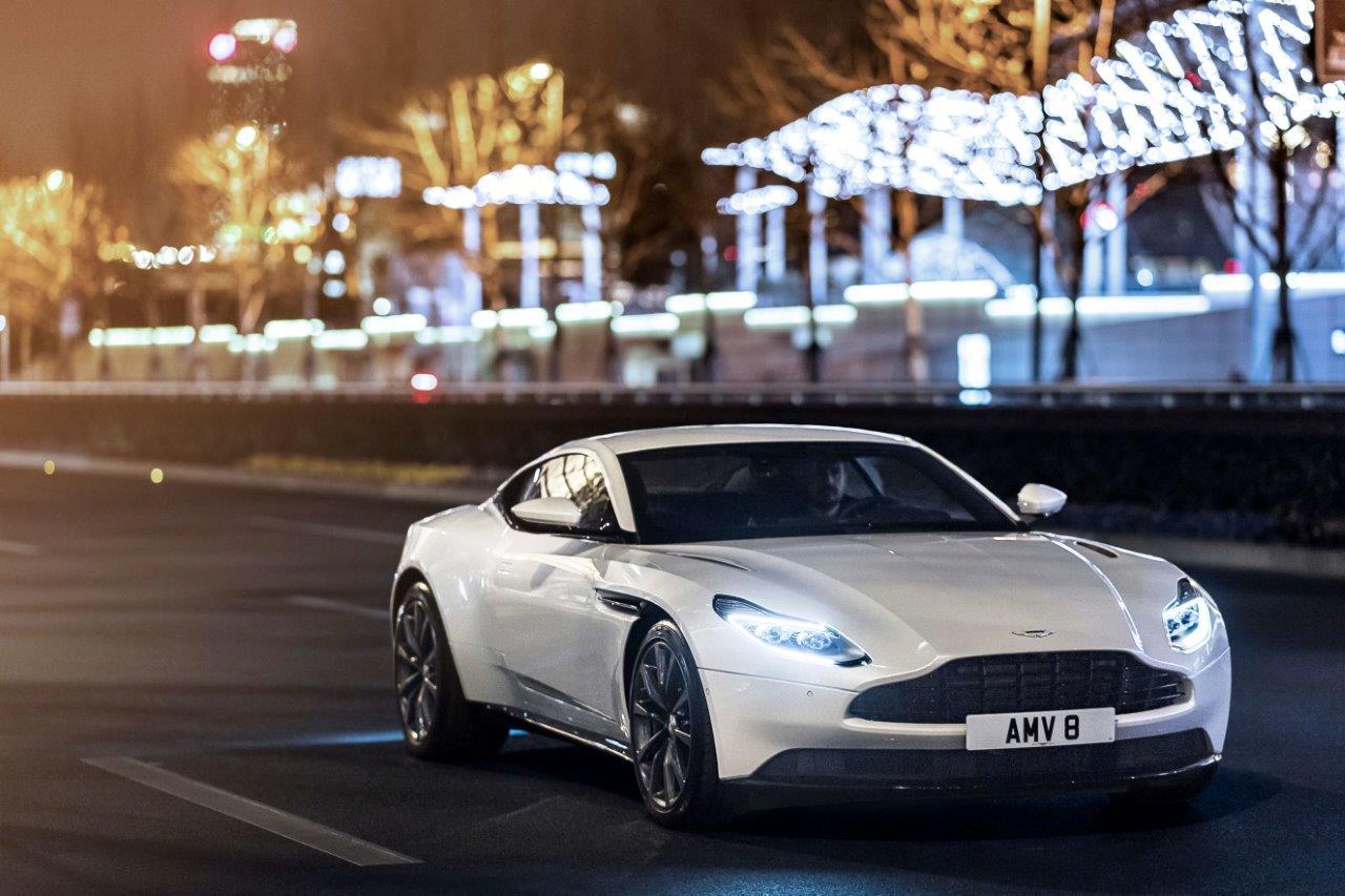 Aston Martin Car - Monaco Yacht Show Car