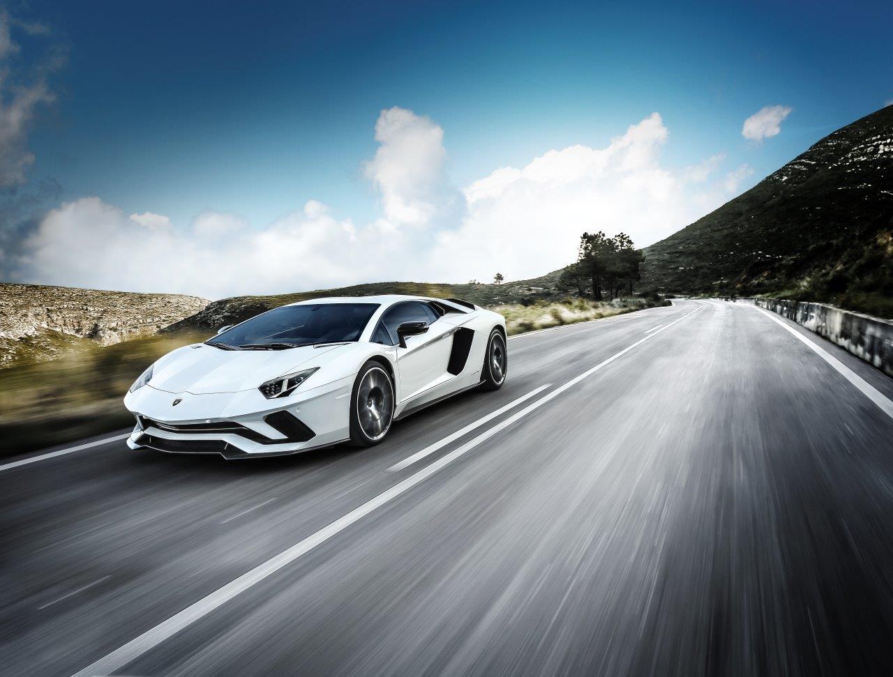 Lamborghini Car - Monaco Yacht Show Car