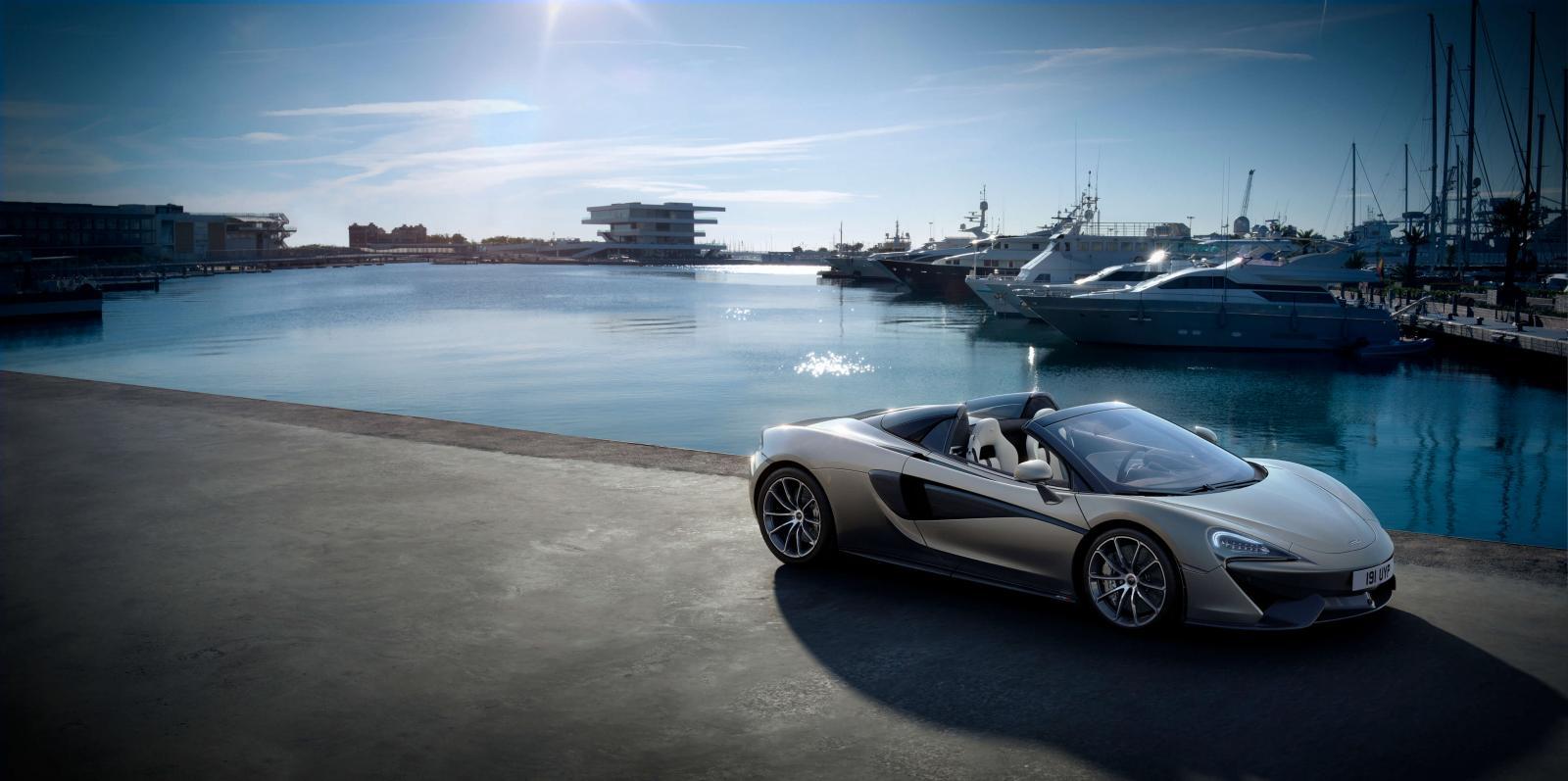 Mclaren Car - Monaco Yacht Show Car