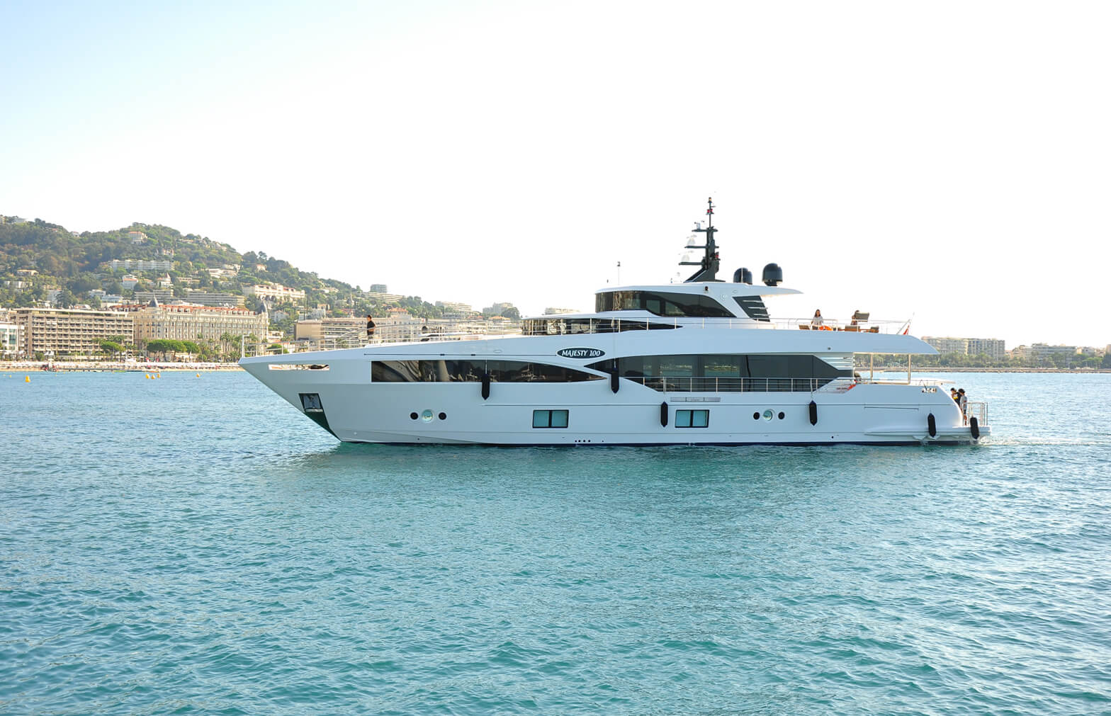 Gulf Craft - Majesty 100 at Cannes Yachting Festival