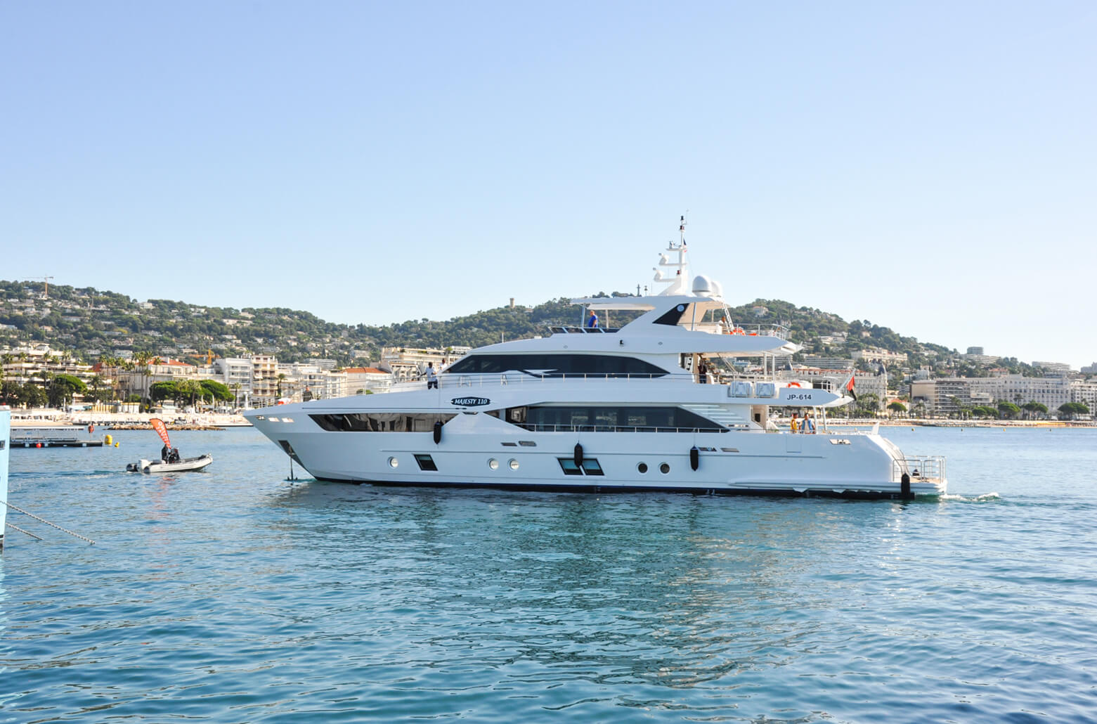 Gulf Craft - Majesty 110 at Cannes Yachting Festival