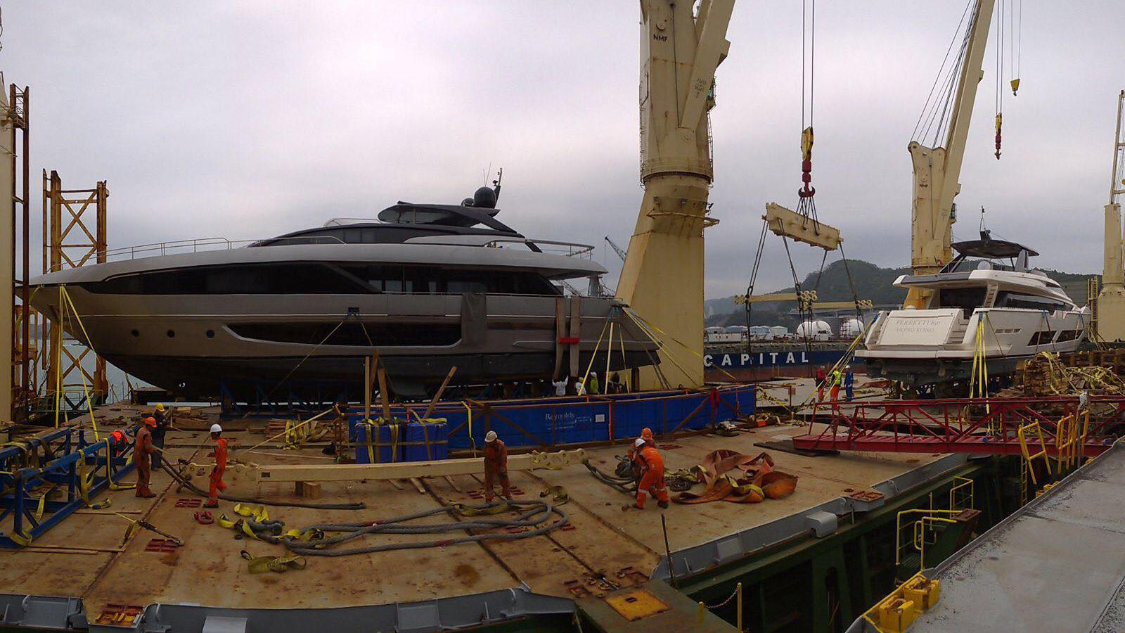 First Riva 100 Corsaro Yacht Delivered to Hong Kong