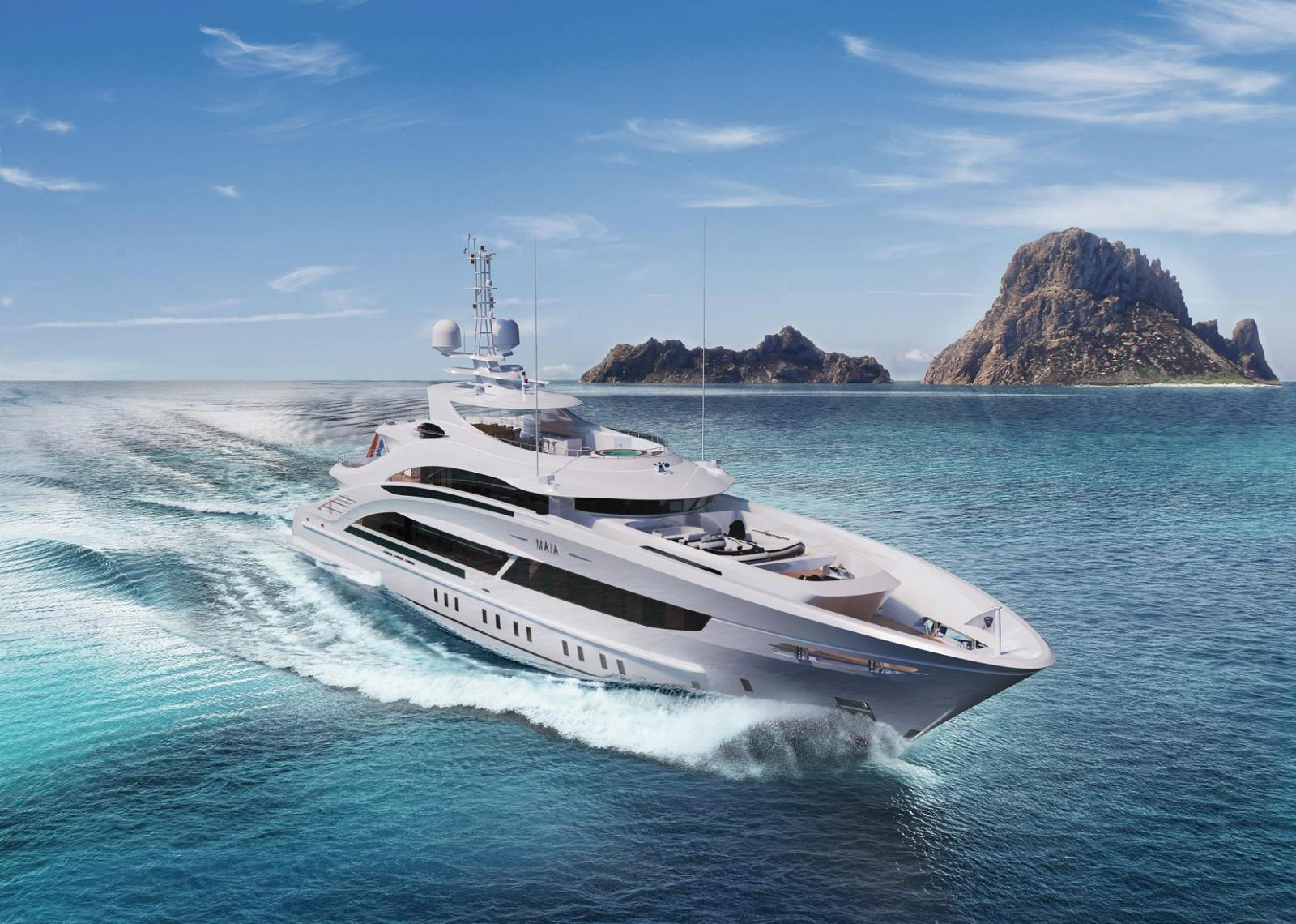 Project Maia, Heesen Newest 50M Full Displacement